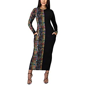 Tralounry Women Print Long-Sleeve Outwear Two Pieces Outfit Playsuit