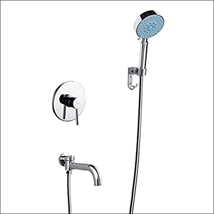 Cold Water Faucet Single Hand Shower To The Wall Assemblies ...