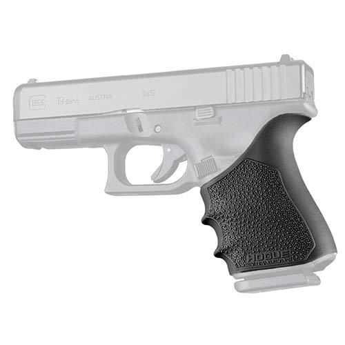 Hogue 17050 HandAll Beavertail Grip Sleeve, Glock 19 Gen 1-2-5, Black (Best Grip For Glock 19)