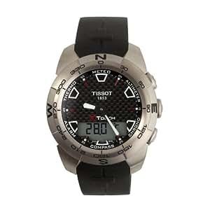 Tissot Men's T0134204720100 T-Touch Expert Titanium Ana-Digi Watch