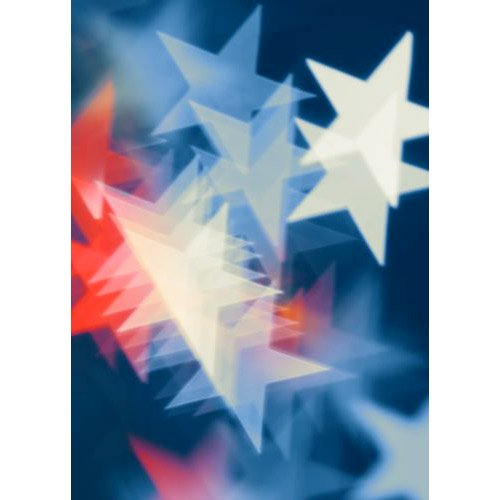 Printed Photography Background Patriotic Stars Stripes Titanium Cloth TC7739 Backdrop 5'x6' Ft (60