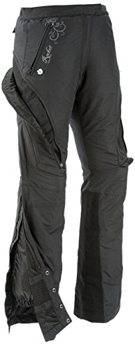 Large Womens Motorcycle Pants (Joe Rocket Alter Ego Women's Motorcycle Riding Pants (Black, Large))
