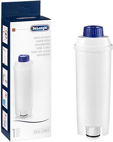 DeLonghi DLSC002 Filtro agua antical, para cafeteras superautomaticas, original, compatible modelos ECAM / ETAM, 2 meses duracion