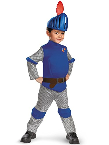 Disguise Boy's Mike The Knight Deluxe Costume, 3T-4T