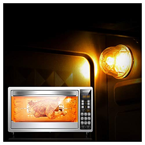 MWNV オーブンラック - タイマーラック付きオーブン - 高速加熱オーブンオーブン - テーブルトップ用小型 - 1850W(ブラック)ミニオーブン電気グリル   B07NQWS39S