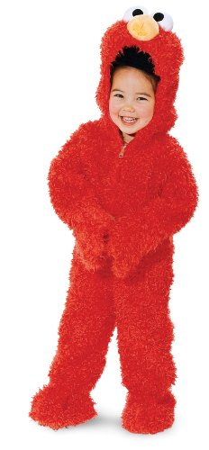 Elmo Deluxe Plush (Is Big Bird A Boy Or Girl)