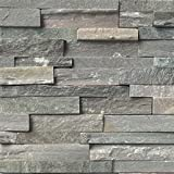 Sierra Blue Slate Ledger Wall Panel 6 in. x 24 in. Natural Stone Tile - FULL PIECE SAMPLE