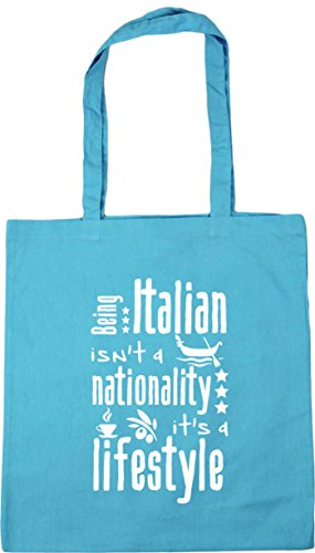 Beach Italian Blue Being Lifestyle x38cm A Shopping 10 Tote Isn't Surf HippoWarehouse A Nationality 42cm Bag It's Gym litres 5PqUFU