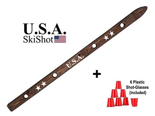 - USA Shot Board Wooden Ski