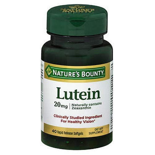 Natures Bounty Lutein - 30 Softgels (Pack of 3)