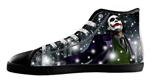 Heren Canvas Hoge Schoenen Joker Thema Joker Canvas Shoes06