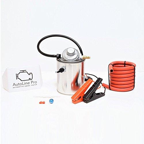 AutoLine Pro EVAP Vacuum Automotive Smoke Machine Leak Detector Diagnostic Tester Compact SMK-1 - Exhaust Emissions Tester