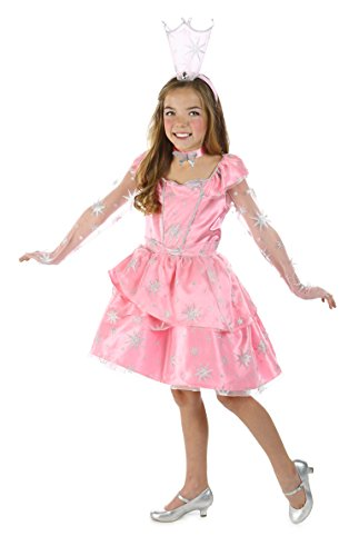 Princess Paradise The Wizard of Oz Glinda The Good Witch Sassy Costume, Pink, Tween 10/12 ()