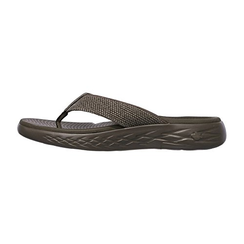 Taille The Tongs Boardwalk 43 Skechers Go on 600 Kaki w0OTRPq
