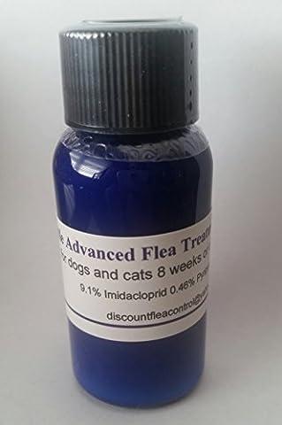 Blue Bottle Advanced Flea Control Prevention Flex-Kit Treatment 30ml 12 monthly doses for Dogs and Cats 21-55 - Advantix Flea Treatment