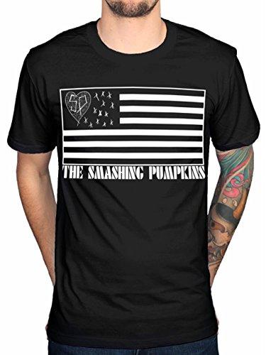 Rockstar The Smashing Pumpkins Logo Tee T-Shirt Black -