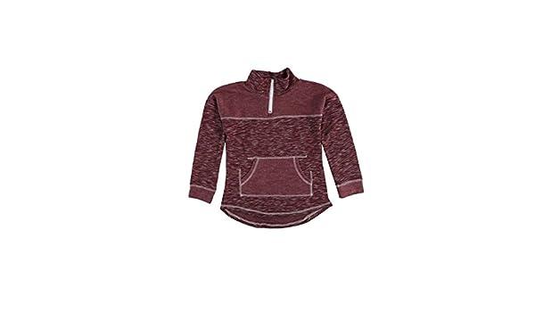 Chance or Fate Girls 7-16 Space Dye Fleece 1//4 Zip Pullover