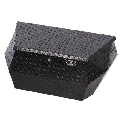Ryfab Aluminum Cargo Storage Box Black - Fits: Polaris RANGER RZR XP 1000 2014-2018