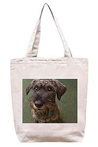 Perro–algodón Canvas Tote Bag