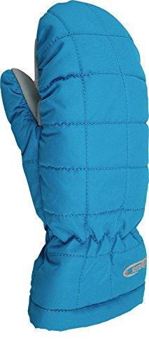 Aqua Mittens (Hotfingers AP226J Kid's Snow Pillow Jr Mitten, Aqua - S)