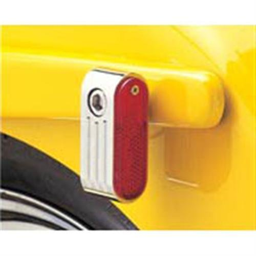 Price comparison product image Rick Doss Red Marker Light for Harley-Davidson (CC09129)