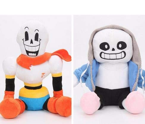 YOYOTOY 2Pcs/Set 30Cm Anime Undertale Plush Toys Undertale Papyrus Asriel Toriel Stuffed Plush Toy Doll Kids Children New Year Gift Must Have Toys 7 Year Old Girl Gifts Toddler Favourite by YOYOTOY