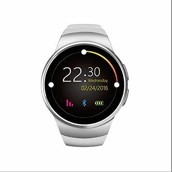 Reloj Inteligente Multi-idiomas alta calidad Monitor de Sueño,alta sensibilidad Pulsómetros,Contador de Calorías,captura remota,Función Anti-perdida reloj ...