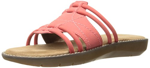 Aerosoles Women Super Cool Slide Sandal Coral