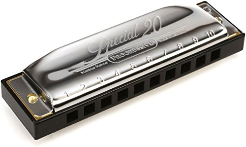 Hohner Special 20 - Key of G (Hohner Special 20 Harmonica Key Of G Major)