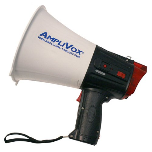 (Amplivox S604 Safety Strobe 10-Watt Megaphone )