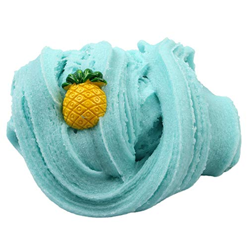 Kanzd Colorful Pineapple Mixing Cloud Cotton Candy Slime Scented Stress Kids Clay Toy (L) by Kanzd (Image #1)