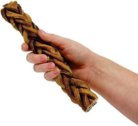 "Dog Treats: Pawstruck 9"" Monster Braided Bully Stick"