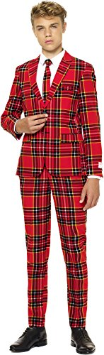 Teen Boys 'The Lumberjack' Party Suit and Tie by OppoSuits (14)