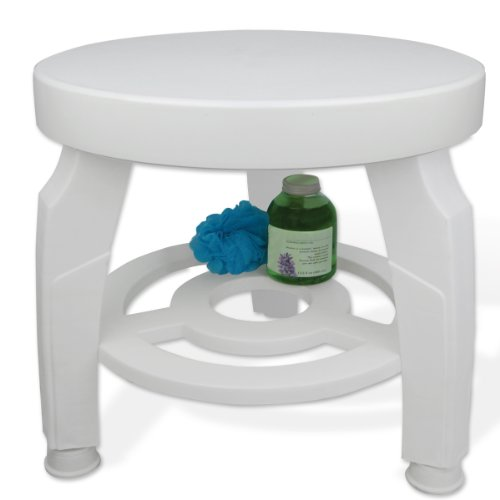 Medical Drive Chairs Shower (Ideaworks JB5596 Swivel Shower Stool)