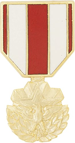 (Meritorious Service Medal Hat Pin)