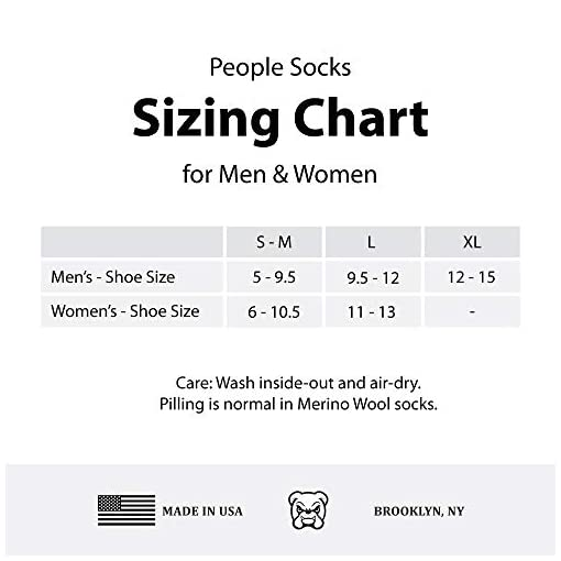 People Socks 4pairs 71/% Blue Premium Merino Wool Crew Hiking Socks Made in USA