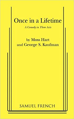Once in a lifetime moss hart george s kaufman 9780573613388 once in a lifetime moss hart george s kaufman 9780573613388 amazon books fandeluxe Gallery