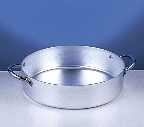 Italo Ottinetti Sauté Pan with Two Handles 32 cm, Metallic, One Size Italo Ottinetti_1305032