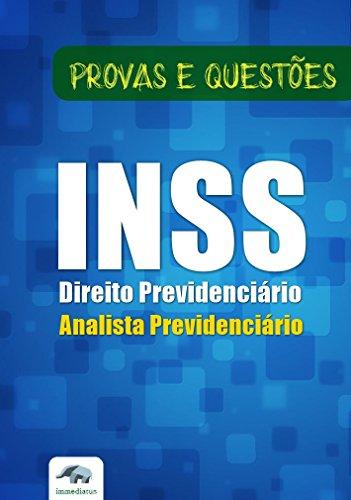 Direito Previdenciário INSS Analista - Questões Objetivas