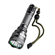 TOPIA STAR Tactical LED Flashlight Rechargeable 5000 Lumens - Water Resistant, Lighting Lamp