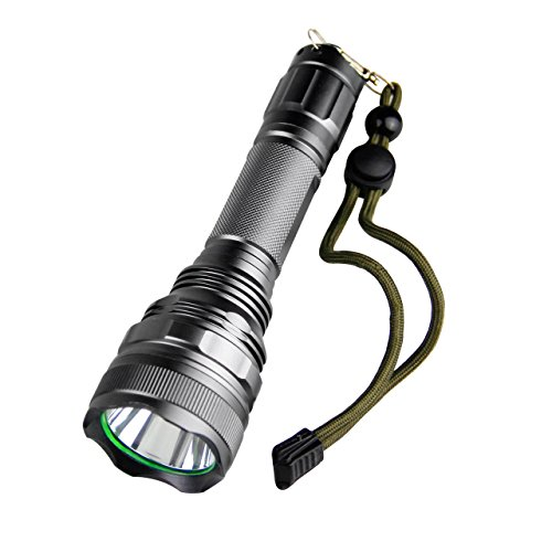 TOPIA STAR Powerful Flashlight, Ultra Bright Led Flashlights,Water Resistant Rechargeable 2000 Lumens flashlights
