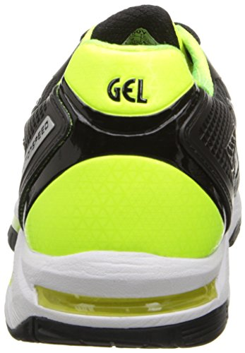 ASICS Herren GEL-Solution Speed ​�? Tennisschuh Onyx / Flash Gelb / Silber