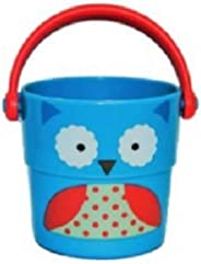 Brinquedo para Diversão no Banho, Formato Baldinho Coruja, Skip Hop, Azul