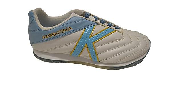 Kelme Mundial Argentina - Zapatilla Deportiva de Tiempo Libre. Talla 39: Amazon.es: Zapatos y complementos