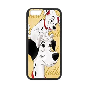101 Dalmatians Cartoon Pattern Productive Back Phone Case For Apple Iphone 6 Plus 5.5 inch screen Cases -Style-7
