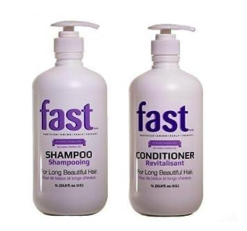 FAST Champú + Acondicionador - El mejor champú para el rápido ...