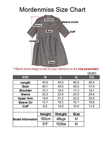 Style 3 Fall Cotton Women's Dress dark Spring Layers Sleeve Long Purple Mordenmiss xz8E6Tnqq