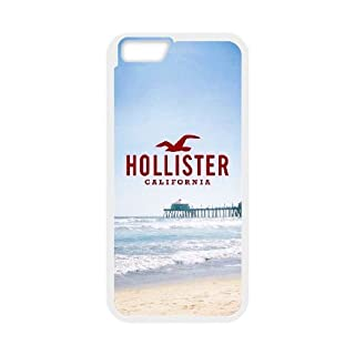 iPhone 6 6S Plus 5.5 Inch funda [Blanco] Hollister logotipo del tema iPhone 6 6S Plus 5.5 Inch funda GA6810