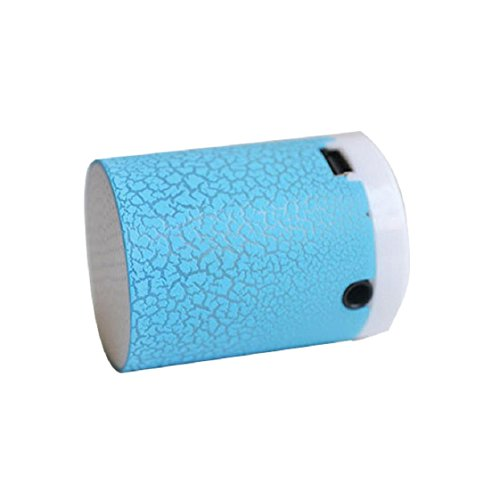 Price comparison product image Mchoice LED Portable Mini Speakers Wireless Hands Free Speaker With TF (Blue)