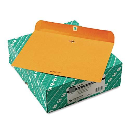 QUA38090 - Color : Light Brown - Quality Park Redi-File Clasp Envelope - Box of ()